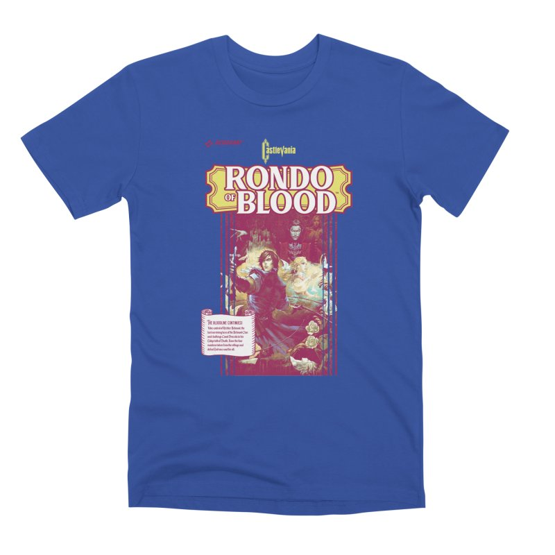 Castlevania: Rondo of Blood Men's T-Shirt by tulleceria