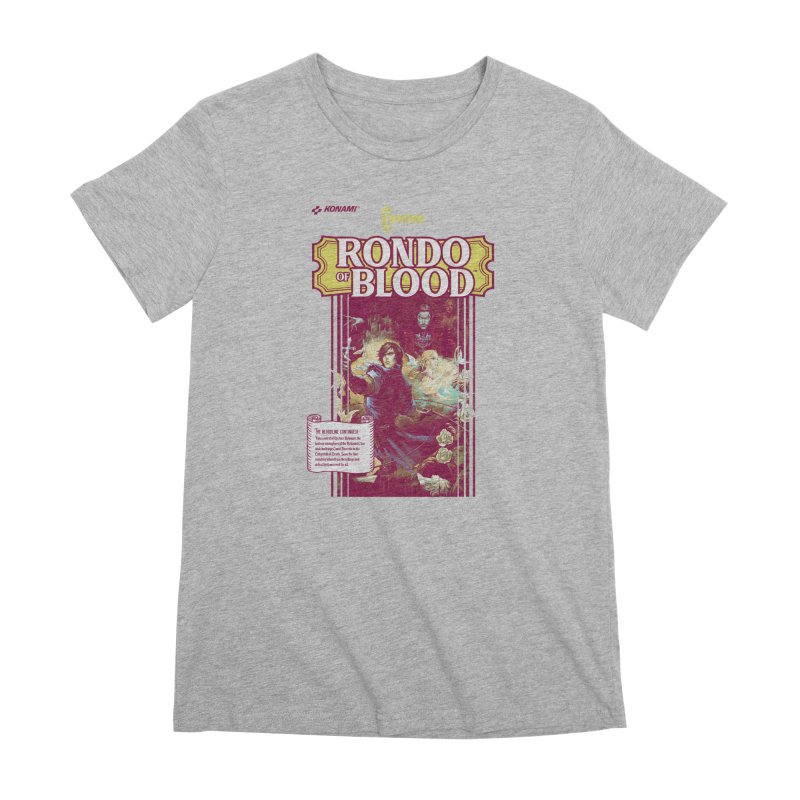 Castlevania: Rondo of Blood Women's Premium T-Shirt by tulleceria