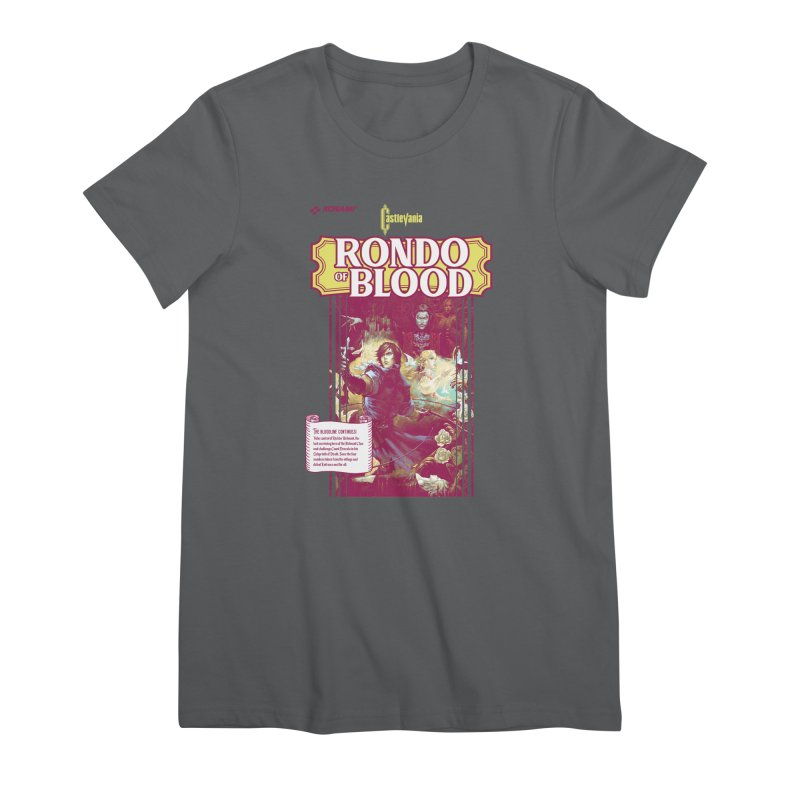 Castlevania: Rondo of Blood Women's Premium T-Shirt by tulleceria