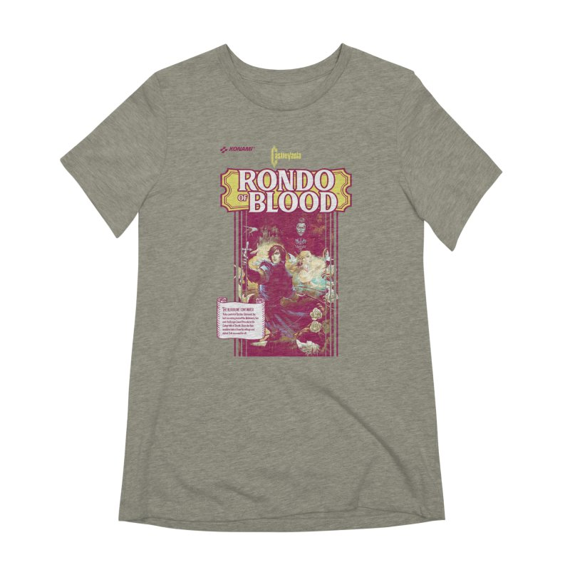Castlevania: Rondo of Blood Women's Extra Soft T-Shirt by tulleceria