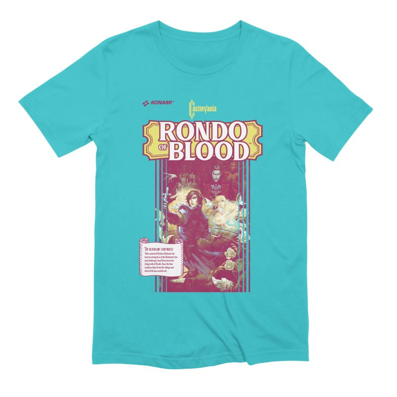 Castlevania: Rondo of Blood Men's Extra Soft T-Shirt by tulleceria