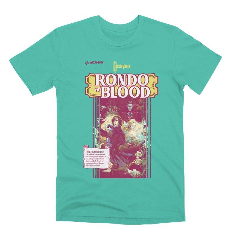 Castlevania: Rondo of Blood Men's Premium T-Shirt by tulleceria