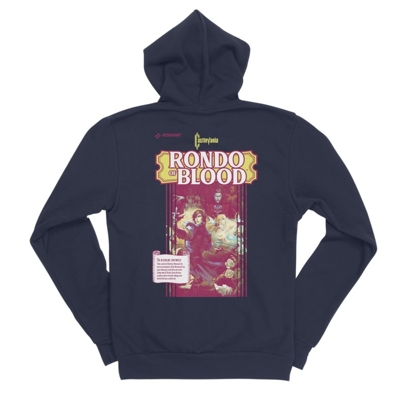 Castlevania: Rondo of Blood Women's Sponge Fleece Zip-Up Hoody by tulleceria