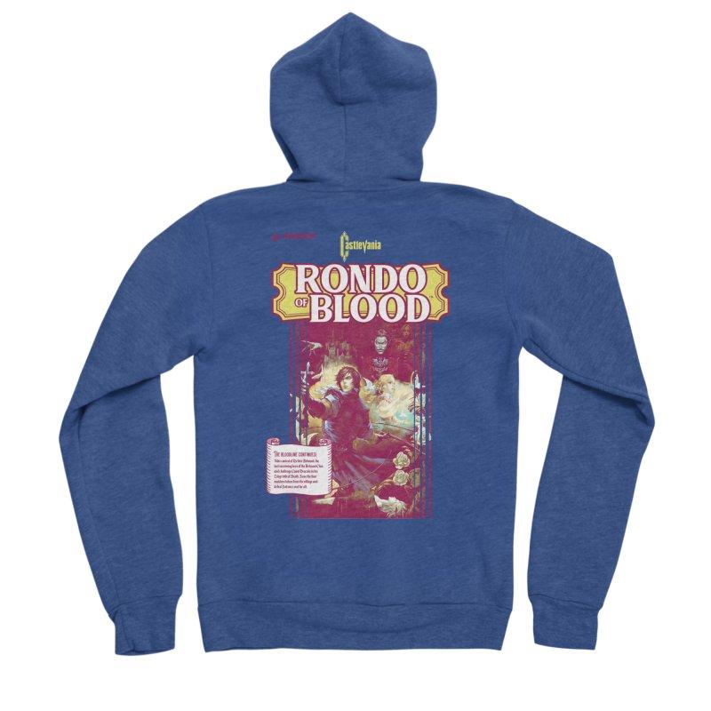 Castlevania: Rondo of Blood Men's Sponge Fleece Zip-Up Hoody by tulleceria