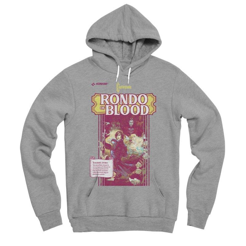 Castlevania: Rondo of Blood Men's Sponge Fleece Pullover Hoody by tulleceria