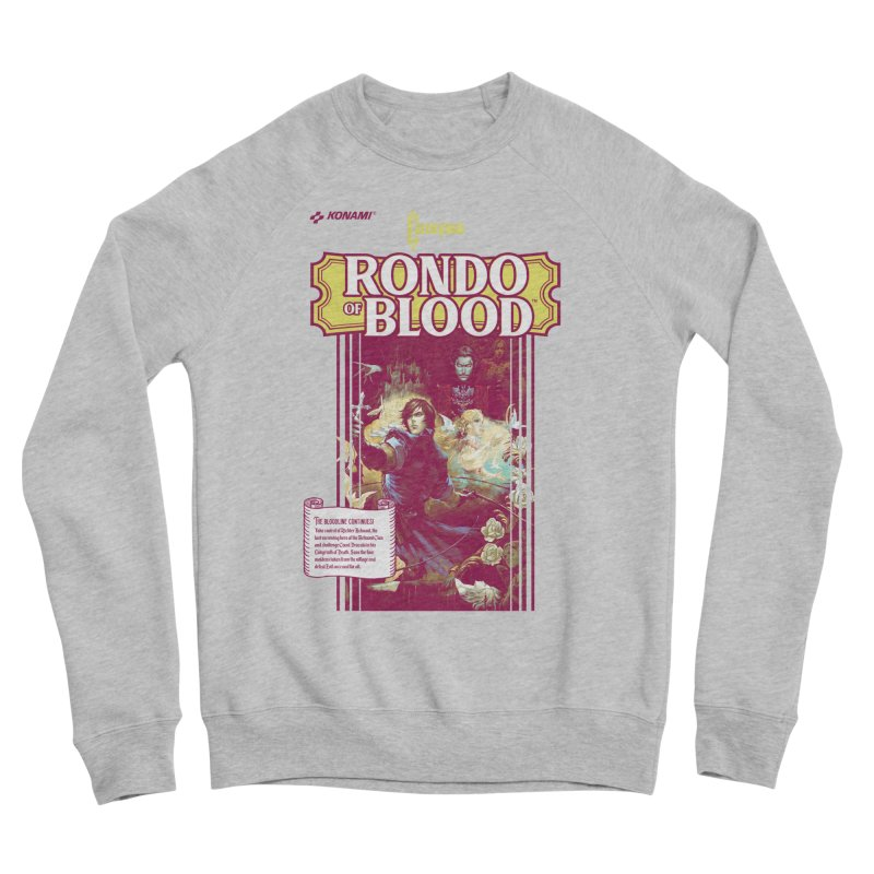 Castlevania: Rondo of Blood Women's Sponge Fleece Sweatshirt by tulleceria