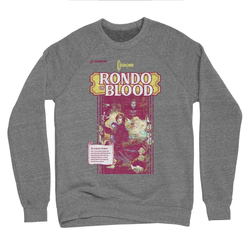 Castlevania: Rondo of Blood Men's Sponge Fleece Sweatshirt by tulleceria