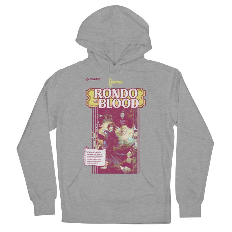 Castlevania: Rondo of Blood Women's French Terry Pullover Hoody by tulleceria