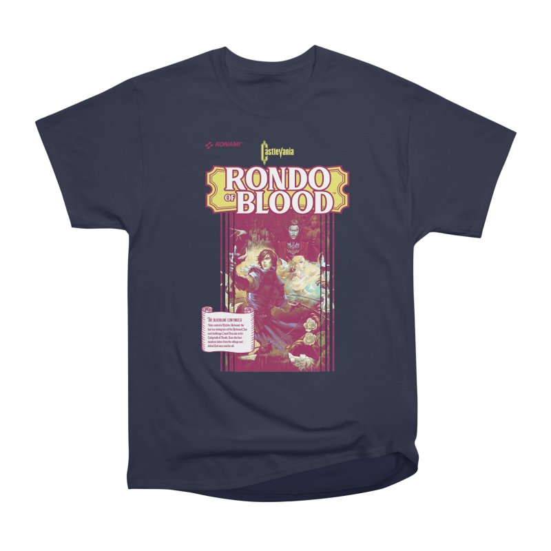 Castlevania: Rondo of Blood Women's Heavyweight Unisex T-Shirt by tulleceria