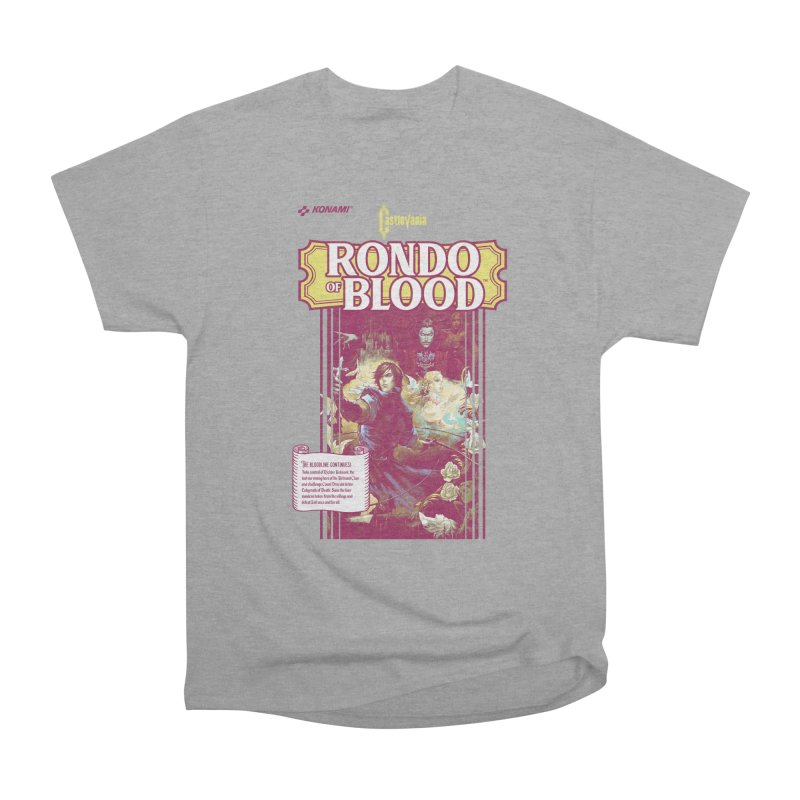 Castlevania: Rondo of Blood Men's Heavyweight T-Shirt by tulleceria