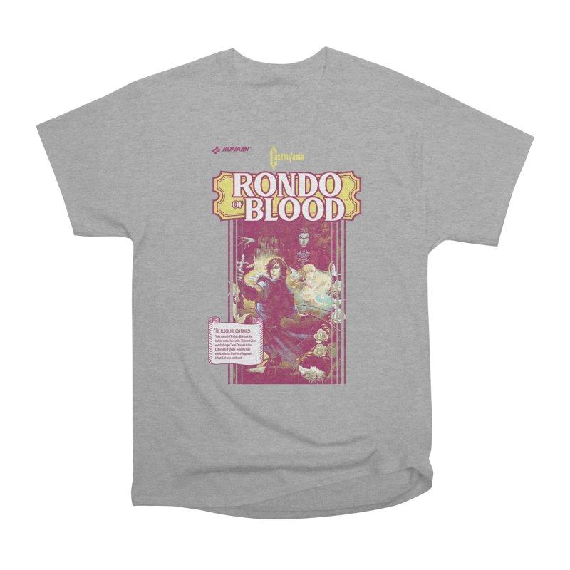 Castlevania: Rondo of Blood Women's Heavyweight Unisex T-Shirt by tulleceria