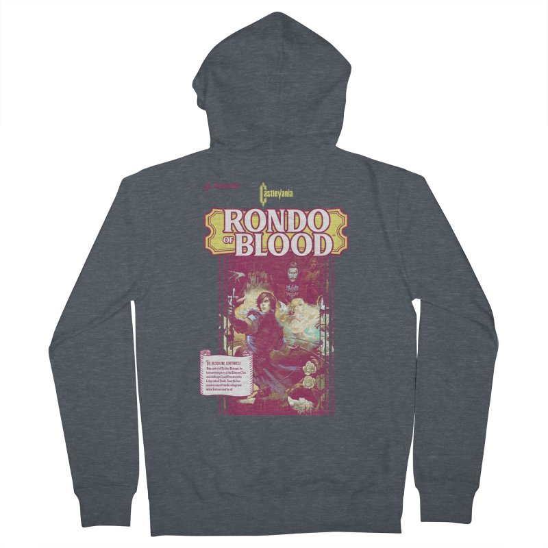 Castlevania: Rondo of Blood Women's French Terry Zip-Up Hoody by tulleceria