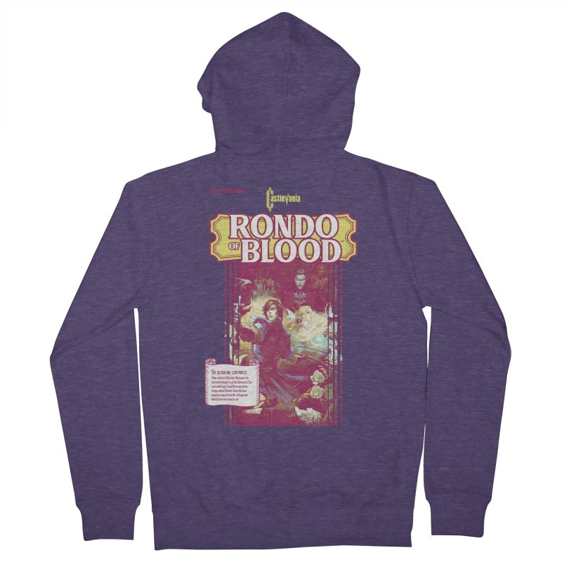 Castlevania: Rondo of Blood Men's French Terry Zip-Up Hoody by tulleceria