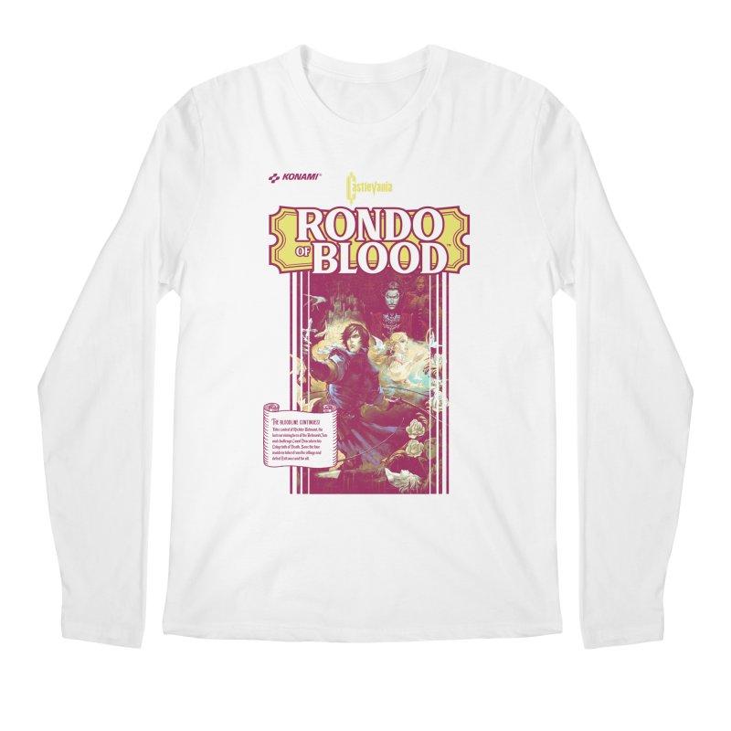 Castlevania: Rondo of Blood Men's Regular Longsleeve T-Shirt by tulleceria