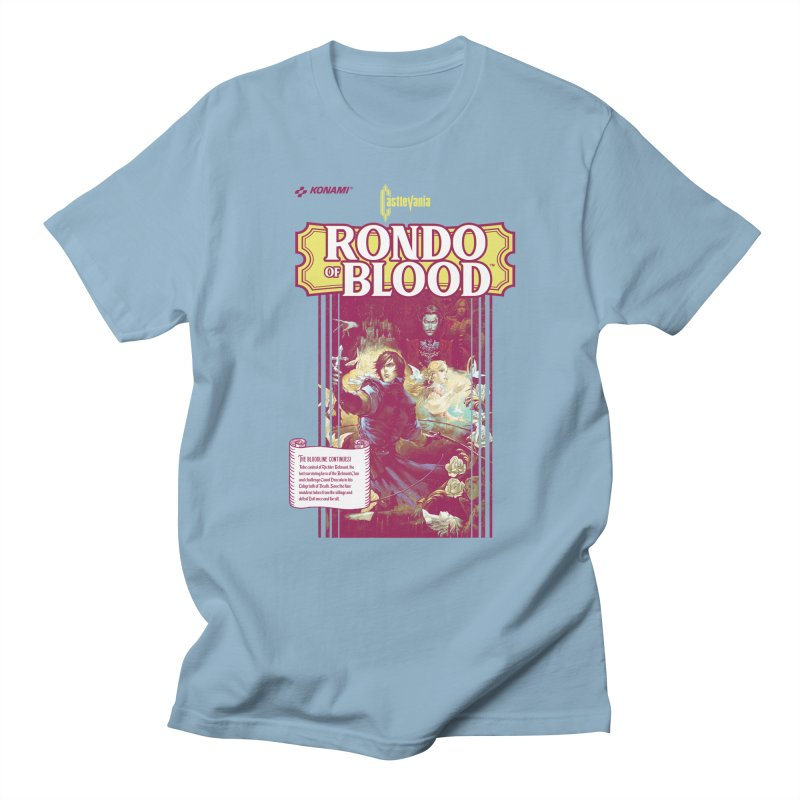 Castlevania: Rondo of Blood Men's Regular T-Shirt by tulleceria