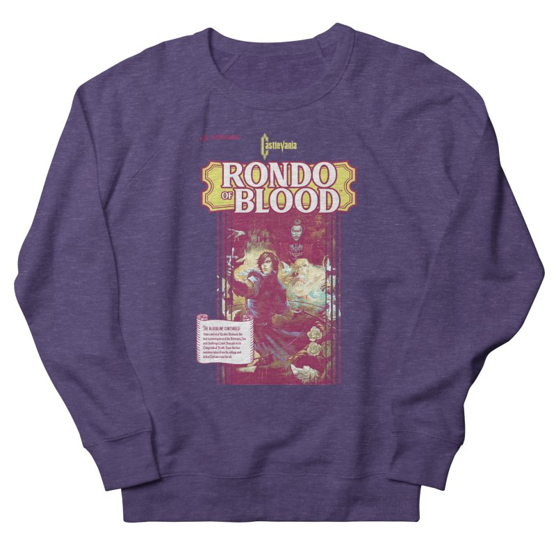 Castlevania: Rondo of Blood Women's French Terry Sweatshirt by tulleceria
