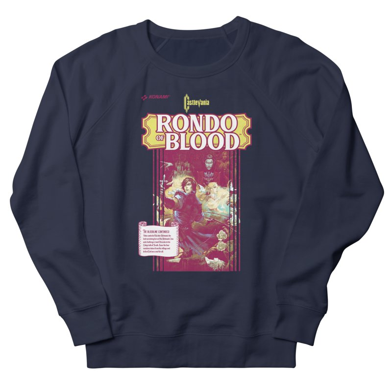 Castlevania: Rondo of Blood Men's French Terry Sweatshirt by tulleceria