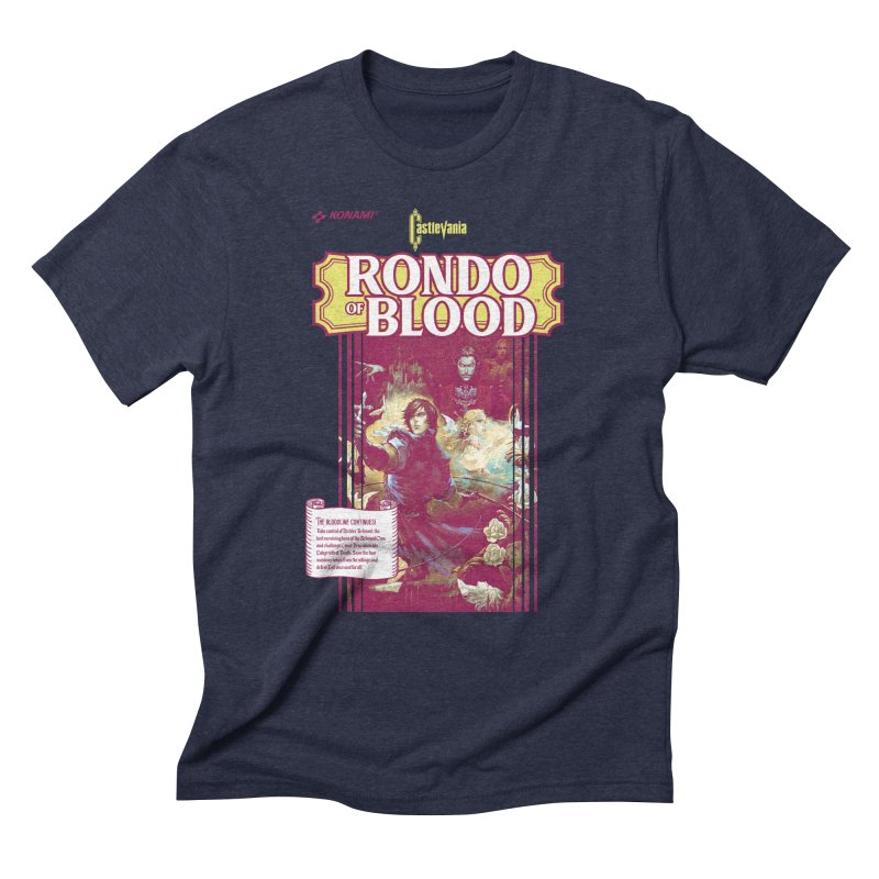 Castlevania: Rondo of Blood Men's Triblend T-Shirt by tulleceria