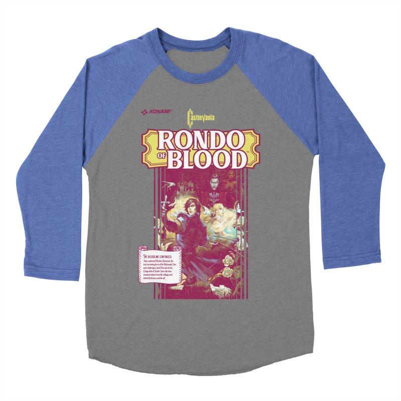 Castlevania: Rondo of Blood Women's Baseball Triblend Longsleeve T-Shirt by tulleceria