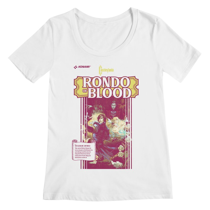 Castlevania: Rondo of Blood Women's Regular Scoop Neck by tulleceria