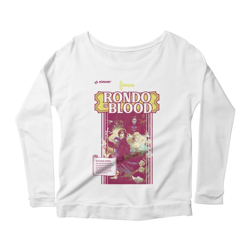 Castlevania: Rondo of Blood Women's Scoop Neck Longsleeve T-Shirt by tulleceria
