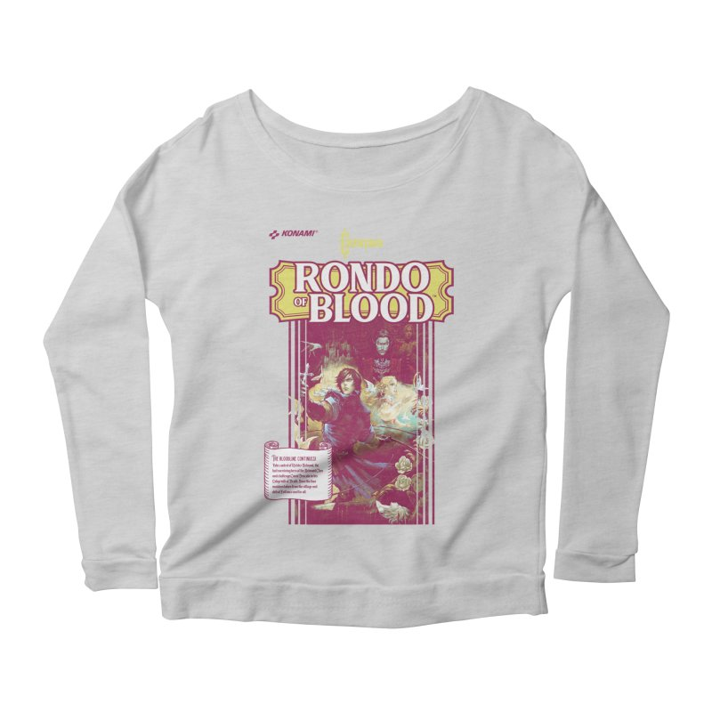 Castlevania: Rondo of Blood Women's Scoop Neck Longsleeve T-Shirt by tulleceria