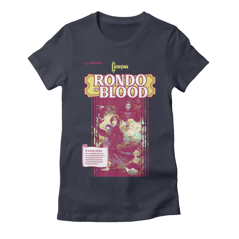 Castlevania: Rondo of Blood Women's Fitted T-Shirt by tulleceria