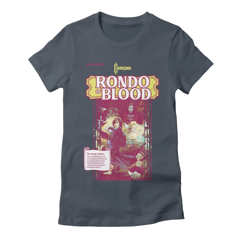 Castlevania: Rondo of Blood Women's T-Shirt by tulleceria