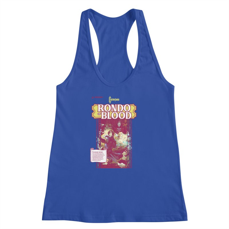 Castlevania: Rondo of Blood Women's Racerback Tank by tulleceria