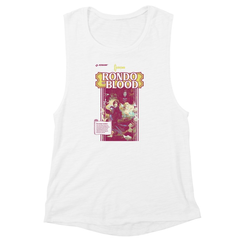 Castlevania: Rondo of Blood Women's Muscle Tank by tulleceria
