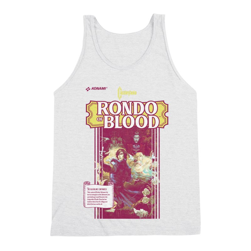 Castlevania: Rondo of Blood Men's Triblend Tank by tulleceria