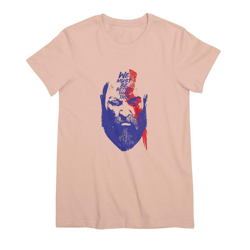 God Of War Women's Premium T-Shirt by tulleceria