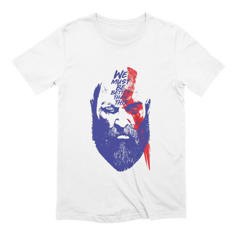 God Of War Men's Extra Soft T-Shirt by tulleceria