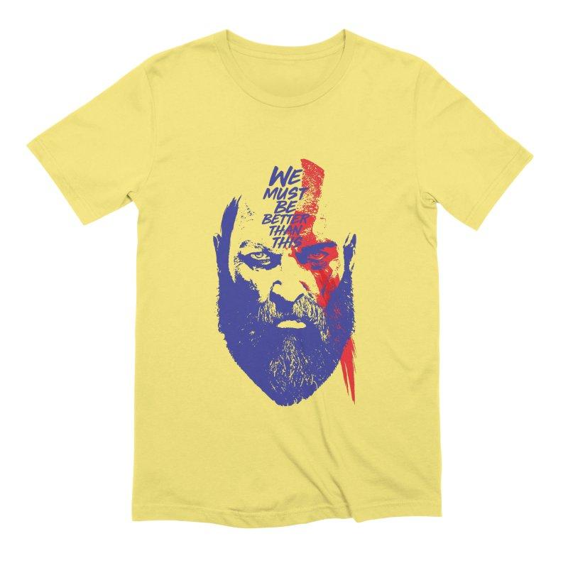 God Of War Men's Extra Soft T-Shirt by tulleceria