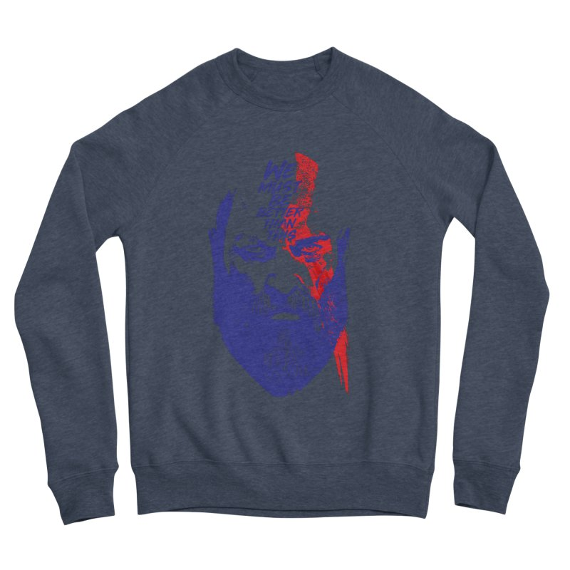 God Of War Women's Sponge Fleece Sweatshirt by tulleceria