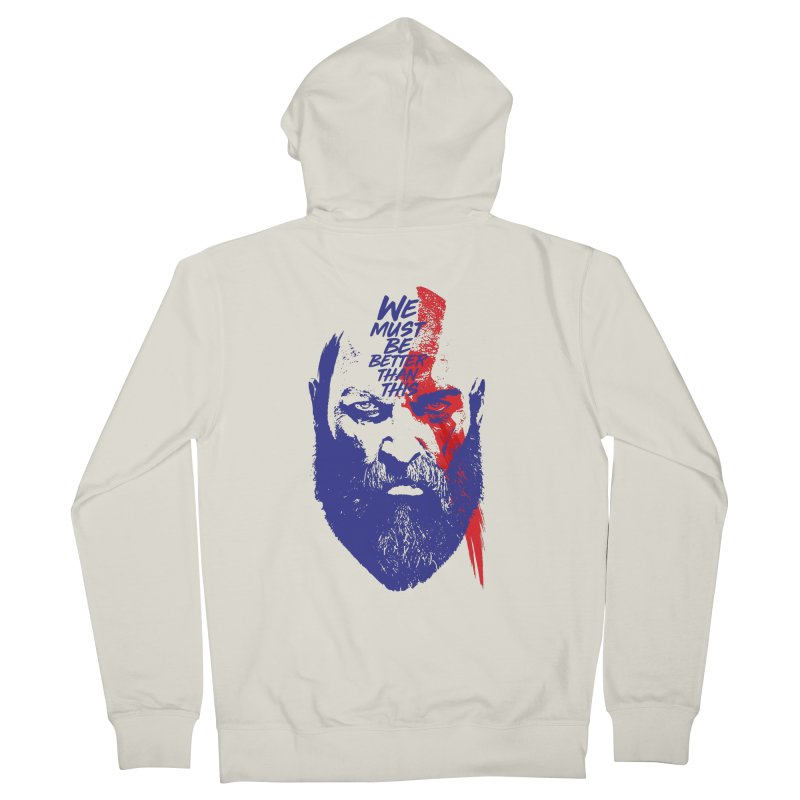 God Of War Women's French Terry Zip-Up Hoody by tulleceria