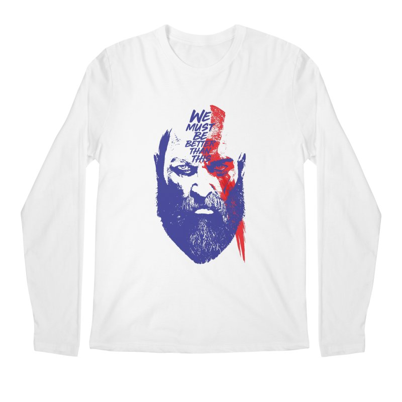God Of War Men's Regular Longsleeve T-Shirt by tulleceria