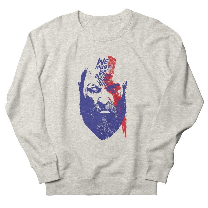 God Of War Women's Sweatshirt by tulleceria