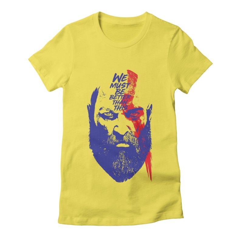 God Of War Women's T-Shirt by tulleceria