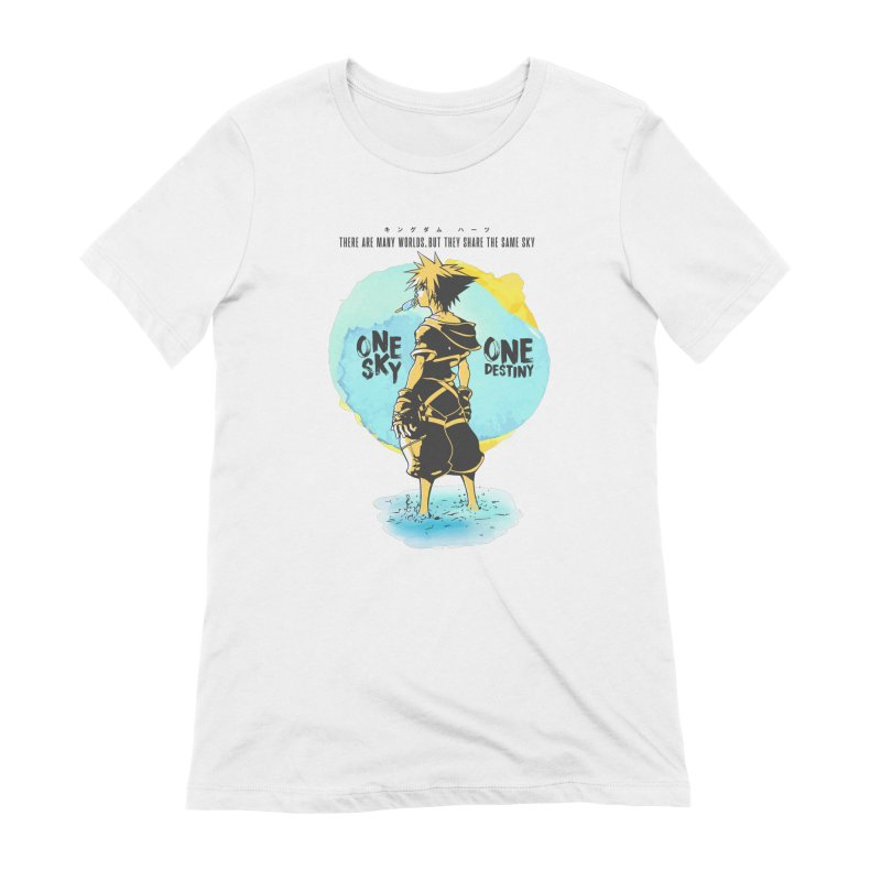 Kingdom Hearts Women's Extra Soft T-Shirt by tulleceria