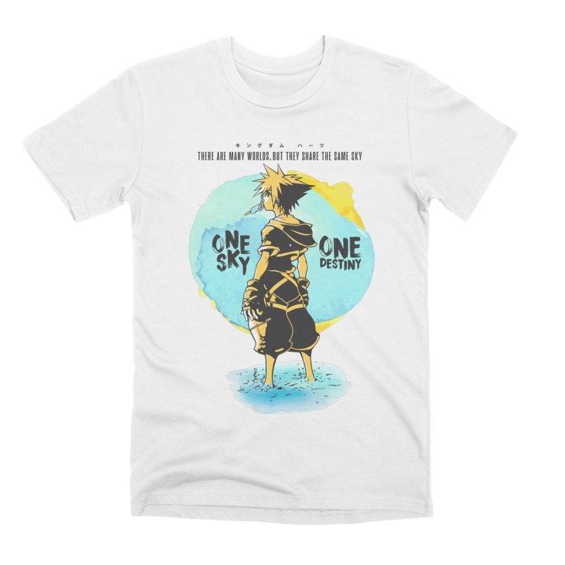 Kingdom Hearts Men's Premium T-Shirt by tulleceria