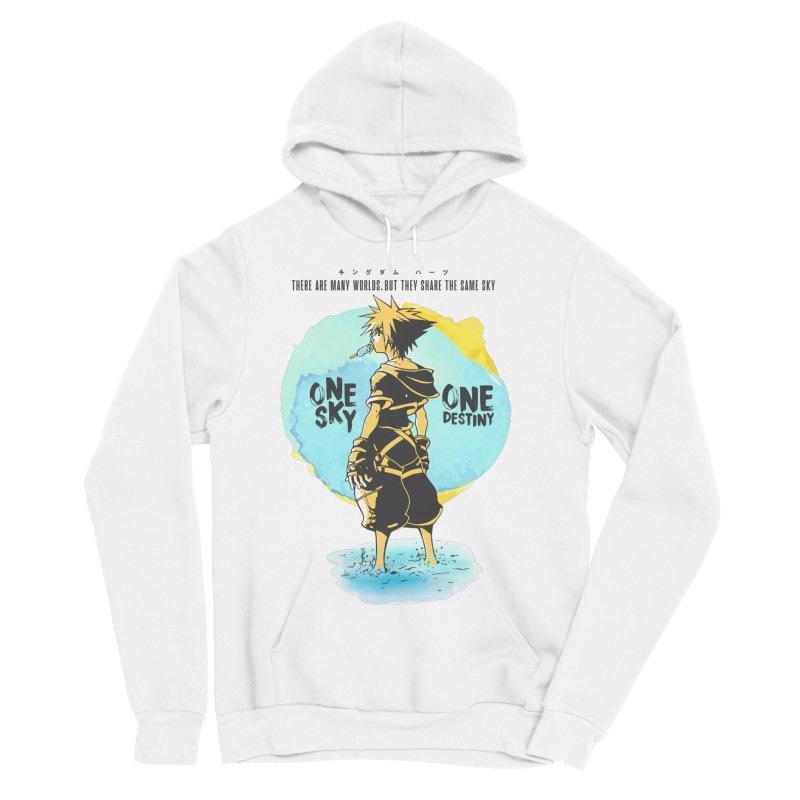 Kingdom Hearts Men's Sponge Fleece Pullover Hoody by tulleceria