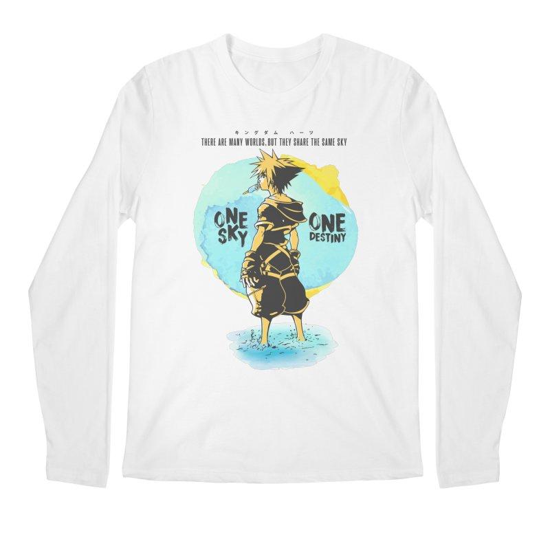 Kingdom Hearts Men's Regular Longsleeve T-Shirt by tulleceria