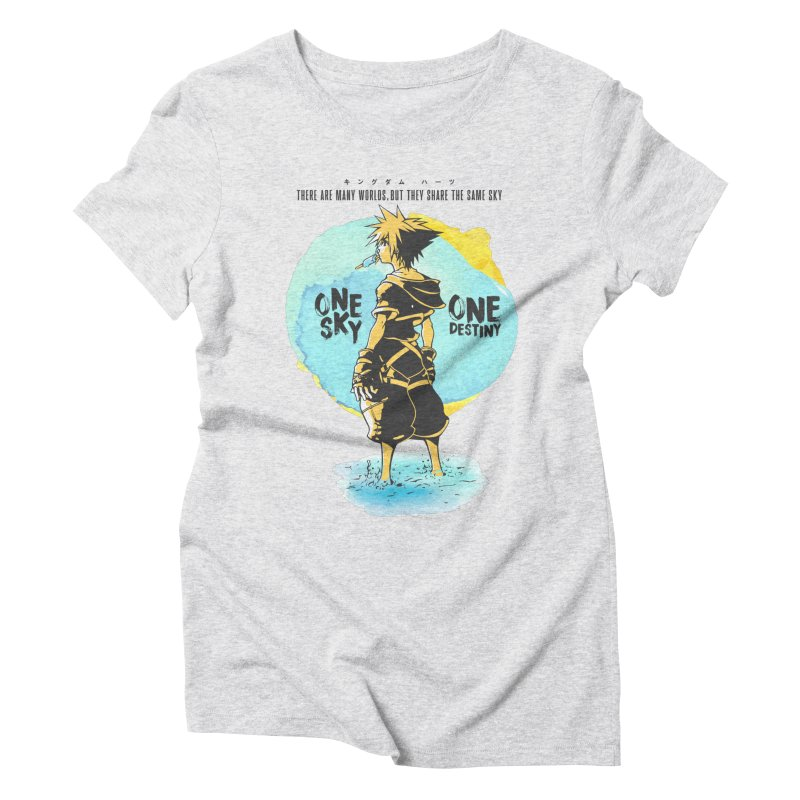 Kingdom Hearts Women's Triblend T-Shirt by tulleceria