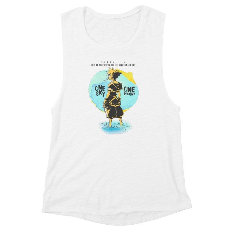 Kingdom Hearts Women's Muscle Tank by tulleceria
