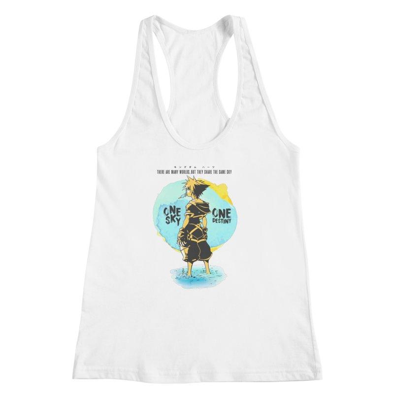 Kingdom Hearts Women's Racerback Tank by tulleceria
