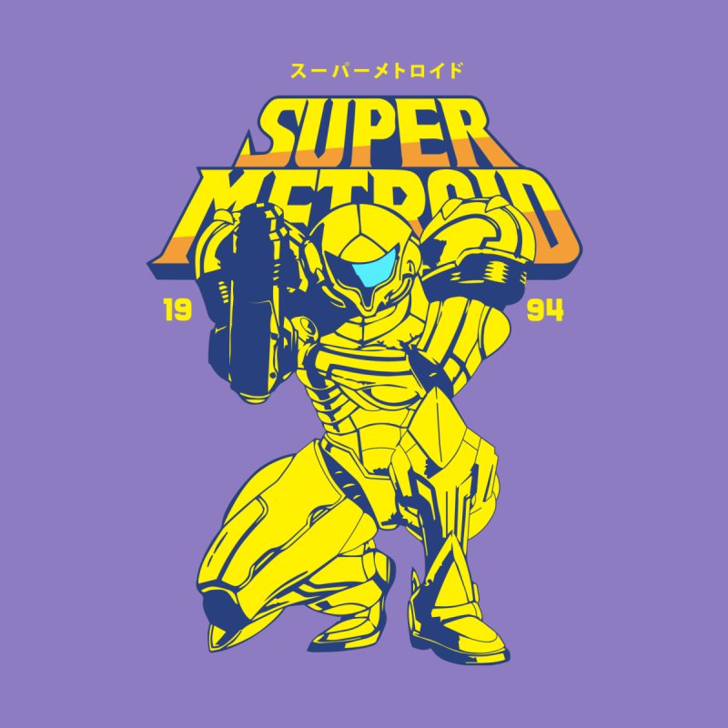 Super Metroid Women's Pullover Hoody by tulleceria