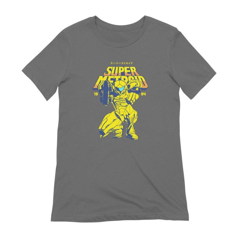 Super Metroid Women's T-Shirt by tulleceria