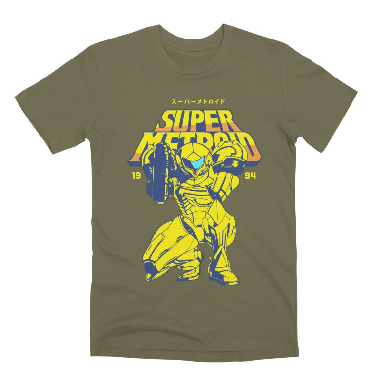 Super Metroid Men's Premium T-Shirt by tulleceria