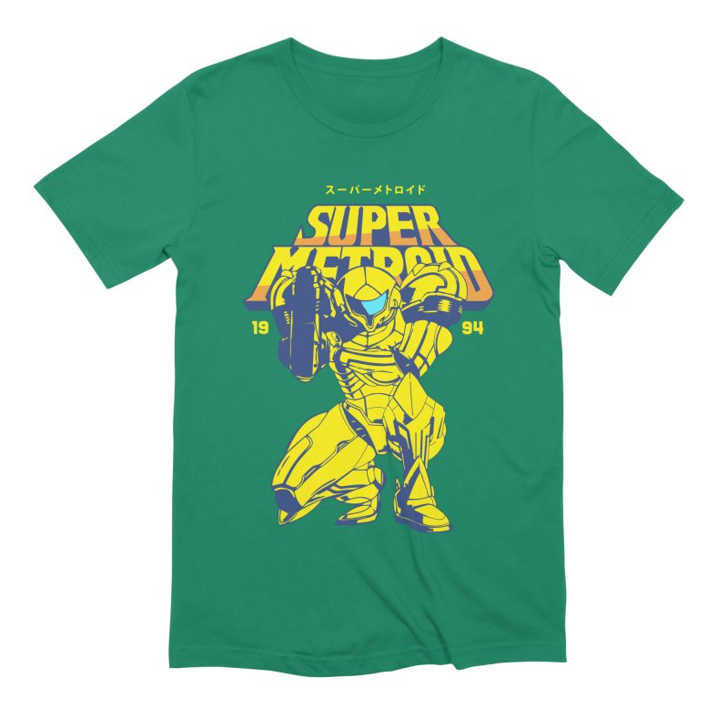 Super Metroid Men's Extra Soft T-Shirt by tulleceria